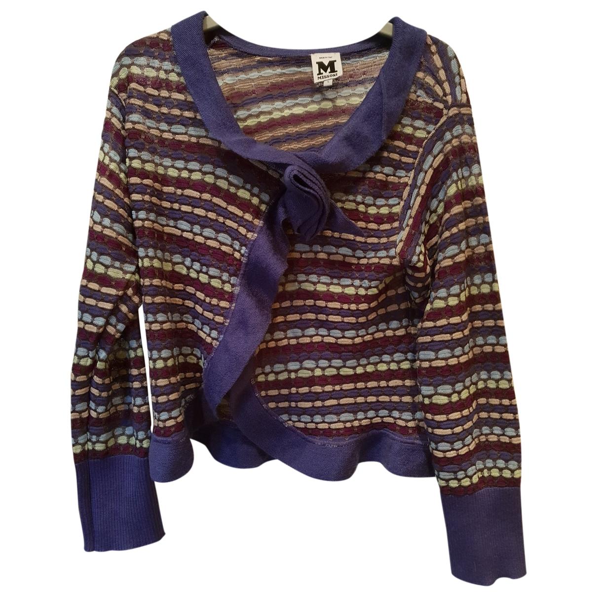 M Missoni \N Purple Cotton Knitwear for Women S International