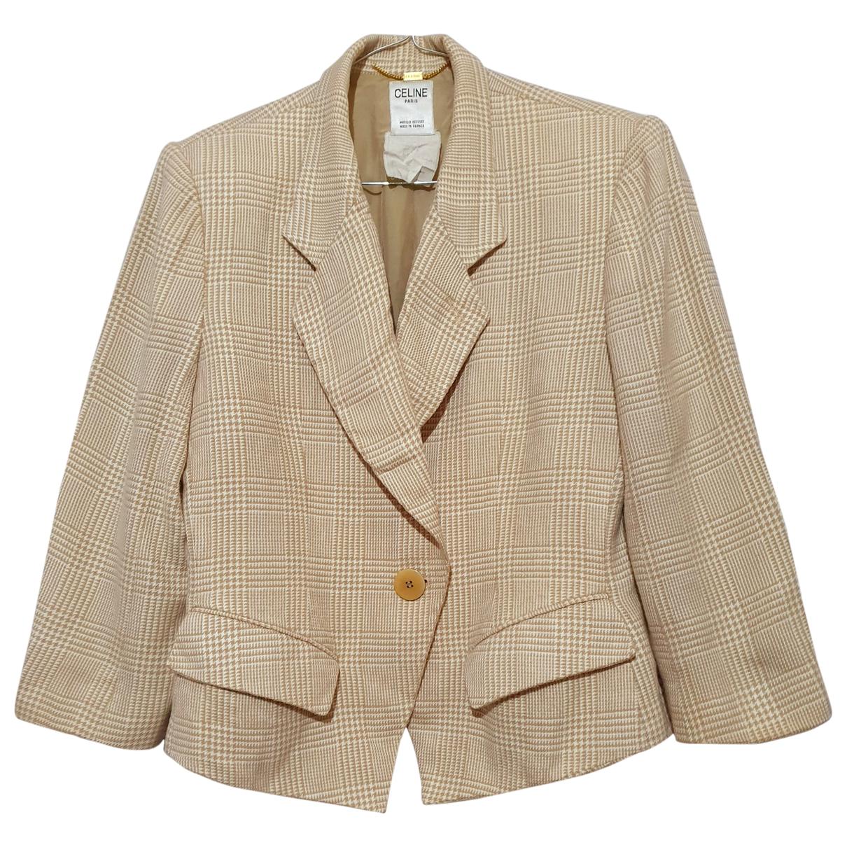 Celine - Veste   pour femme en laine - multicolore