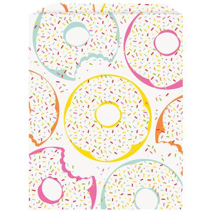 Donut Party Treat Bags, 8ct Pour la fête d'anniversaire