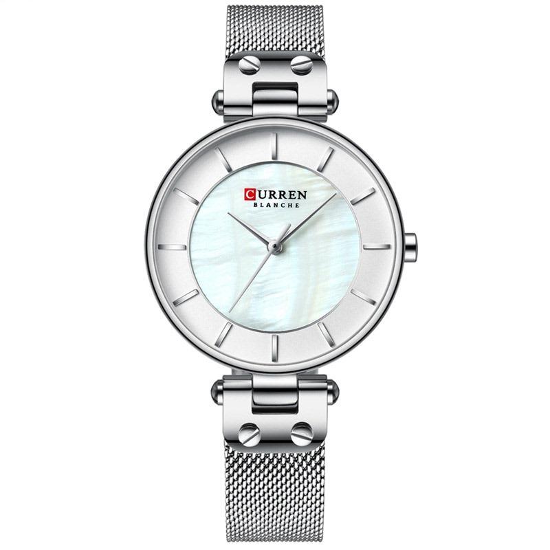 Ericdress Round Quartz Pin Buckle Watches