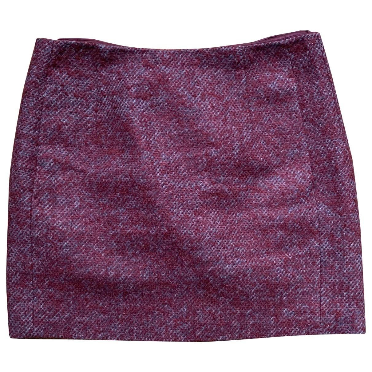 Acne Studios \N Red Silk skirt for Women XS International