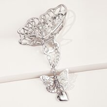 Butterfly Pendant Hollow Hair Claw