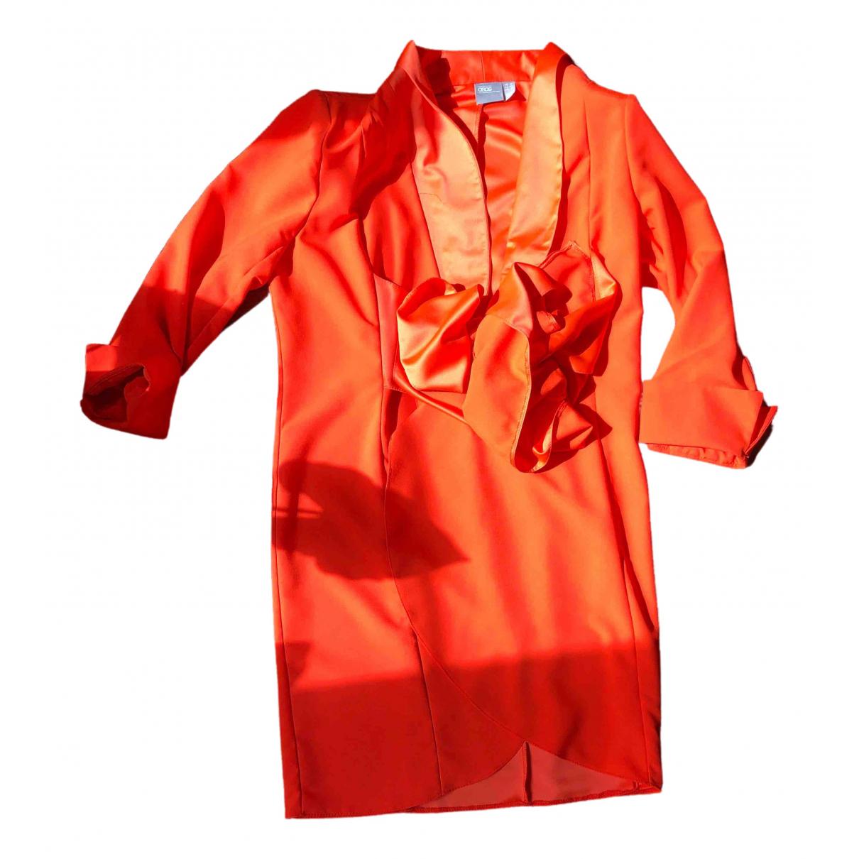 Asos \N Jacke in  Orange Polyester