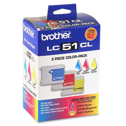Brother MFC-685CW originale couleur encre c/m/y, ensemble de 3 paquet