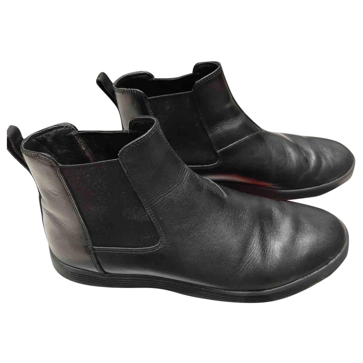 Botas de Cuero Prada