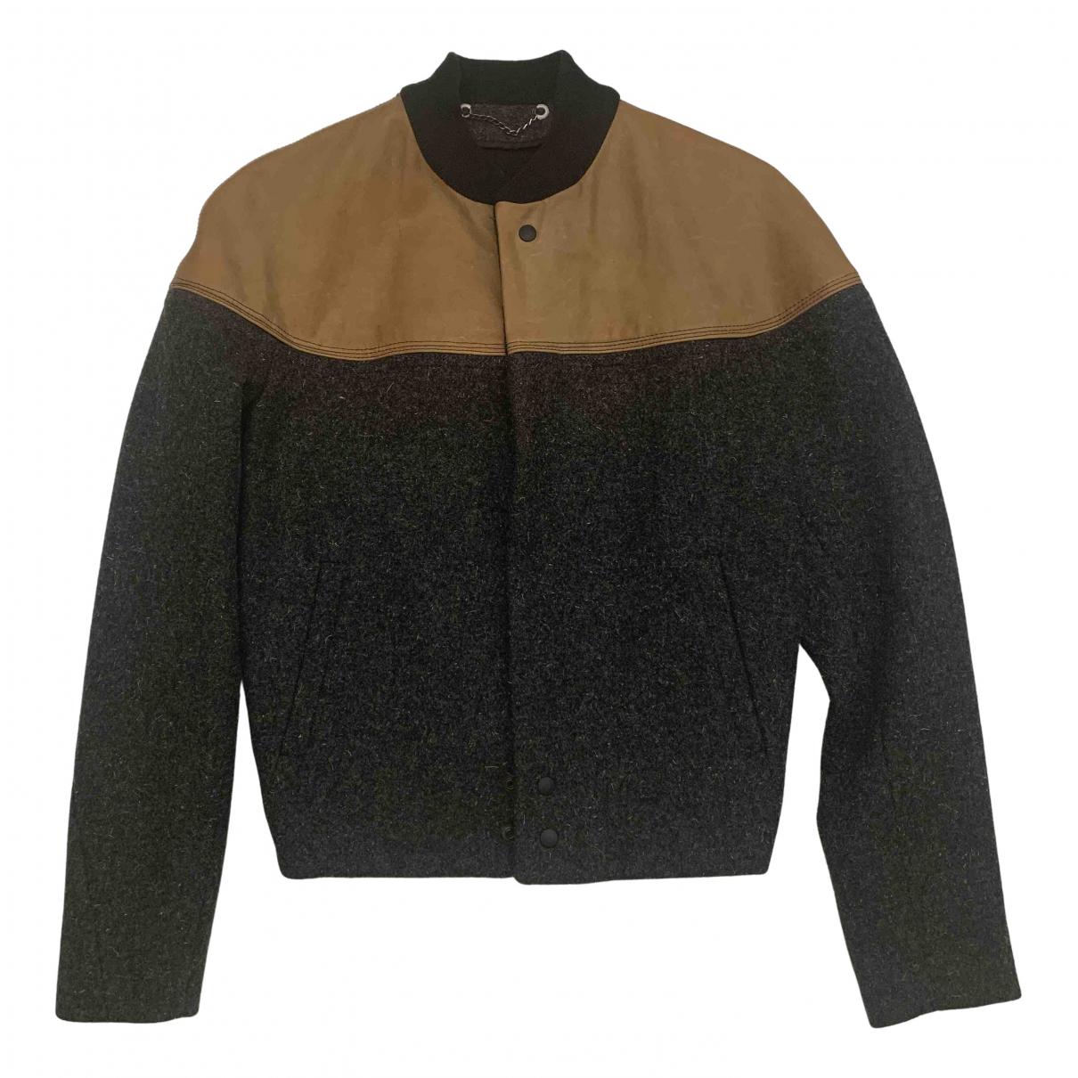 Balenciaga - Vestes.Blousons   pour homme en laine - anthracite