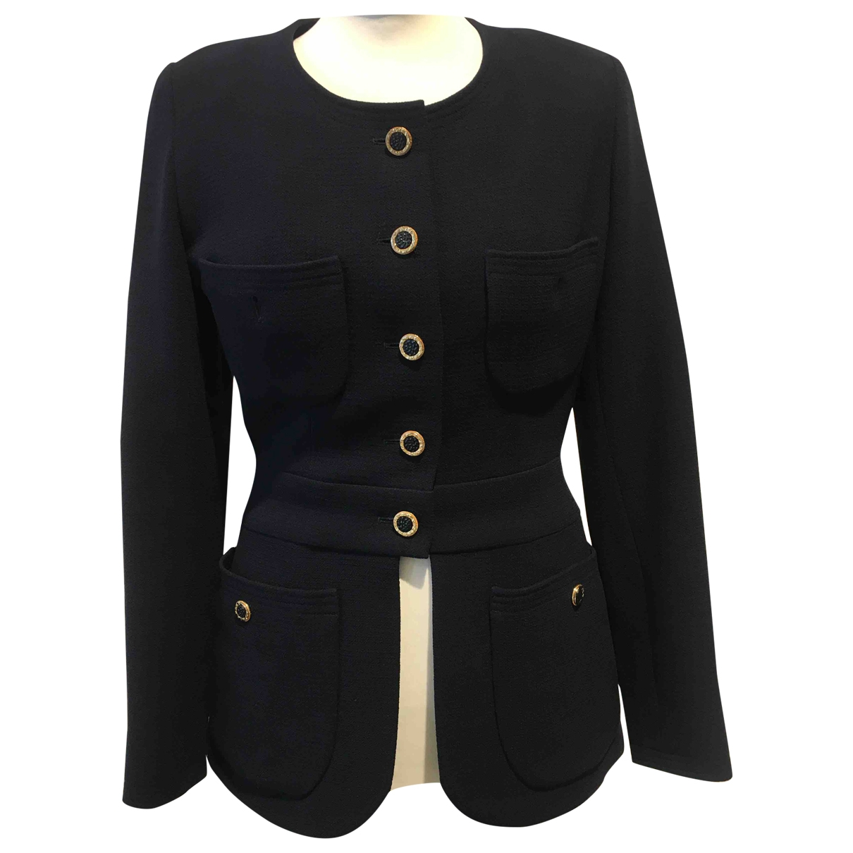 Chanel \N Navy Cotton jacket for Women 38 FR