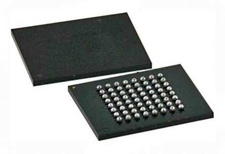 Cypress Semiconductor S29GL512S10DHI020, CFI NOR 512Mbit Flash Memory Chip, 100ns, 64-Pin BGA (260)