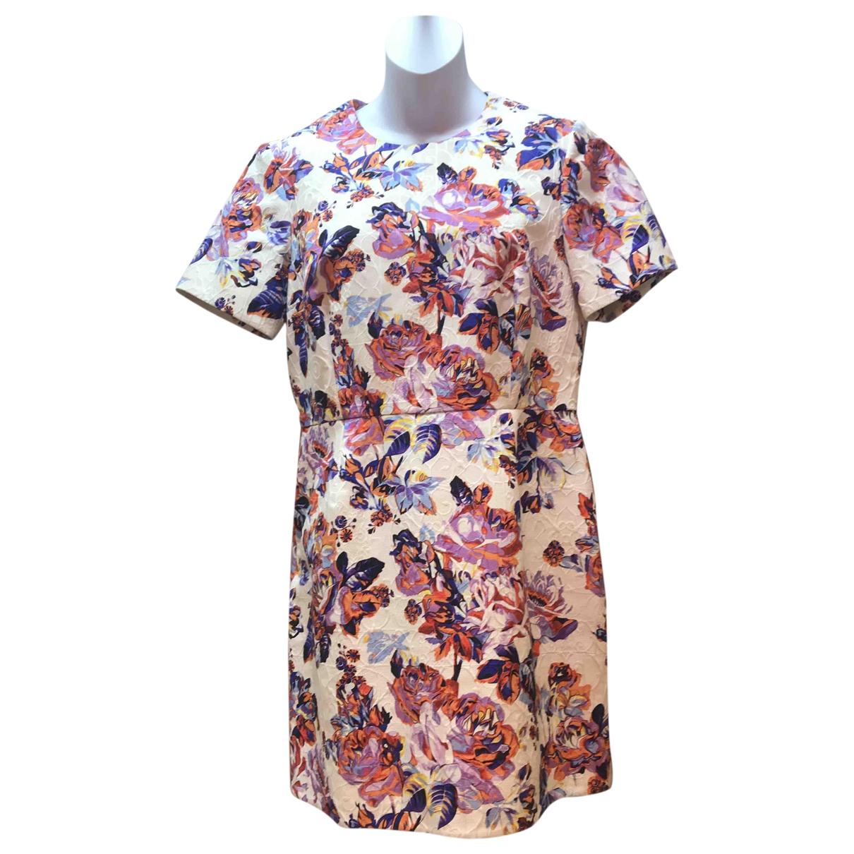 Mary Katrantzou \N White Cotton dress for Women 12 UK