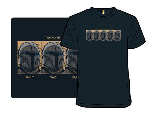 Bounty Hunter Moods T Shirt