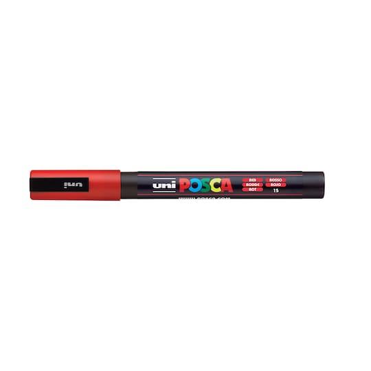 Uni Posca Fine Bullet Tip Pc-3M Paint Marker in Red   1.5 mm   Michaels®