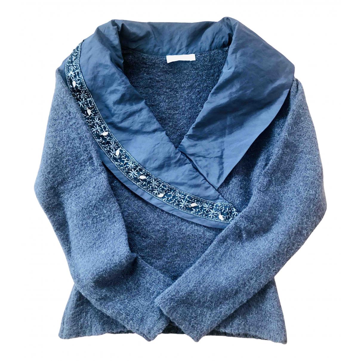 Non Signé / Unsigned N Purple Knitwear for Women S International