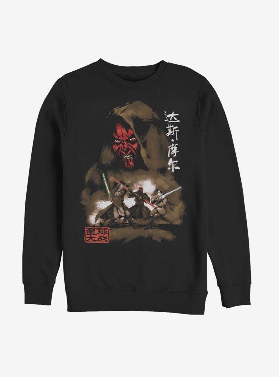 Star Wars Darth Maul Battle Sweatshirt
