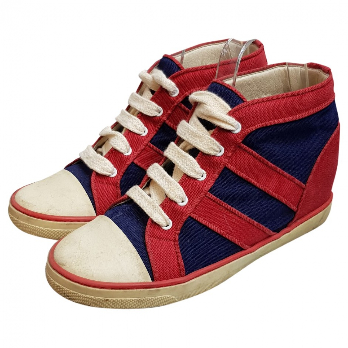 Isabel Marant \N Red Cloth Trainers for Women 40 EU
