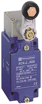 Telemecanique Sensors , Snap Action Roller Lever - Zamak® Zinc Alloy, NO/NC, Roller Lever, 500V, IP66