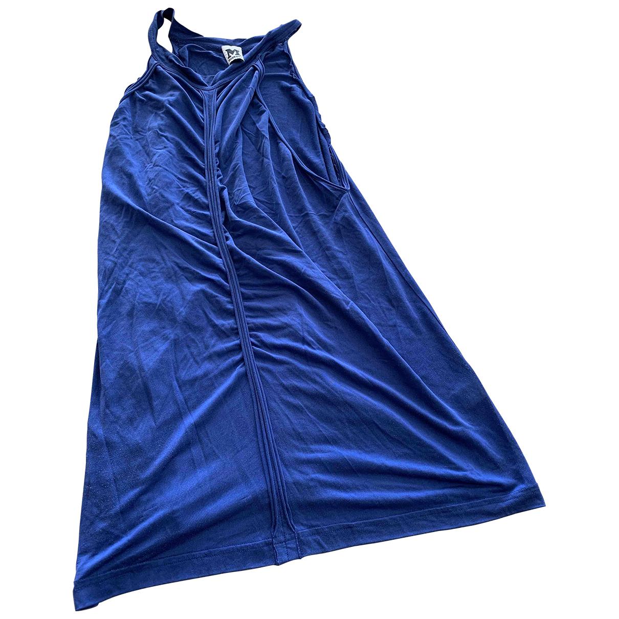 M Missoni - Top   pour femme en soie - bleu