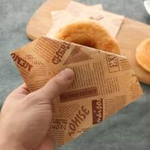 30 piezas papel de hornear de donut