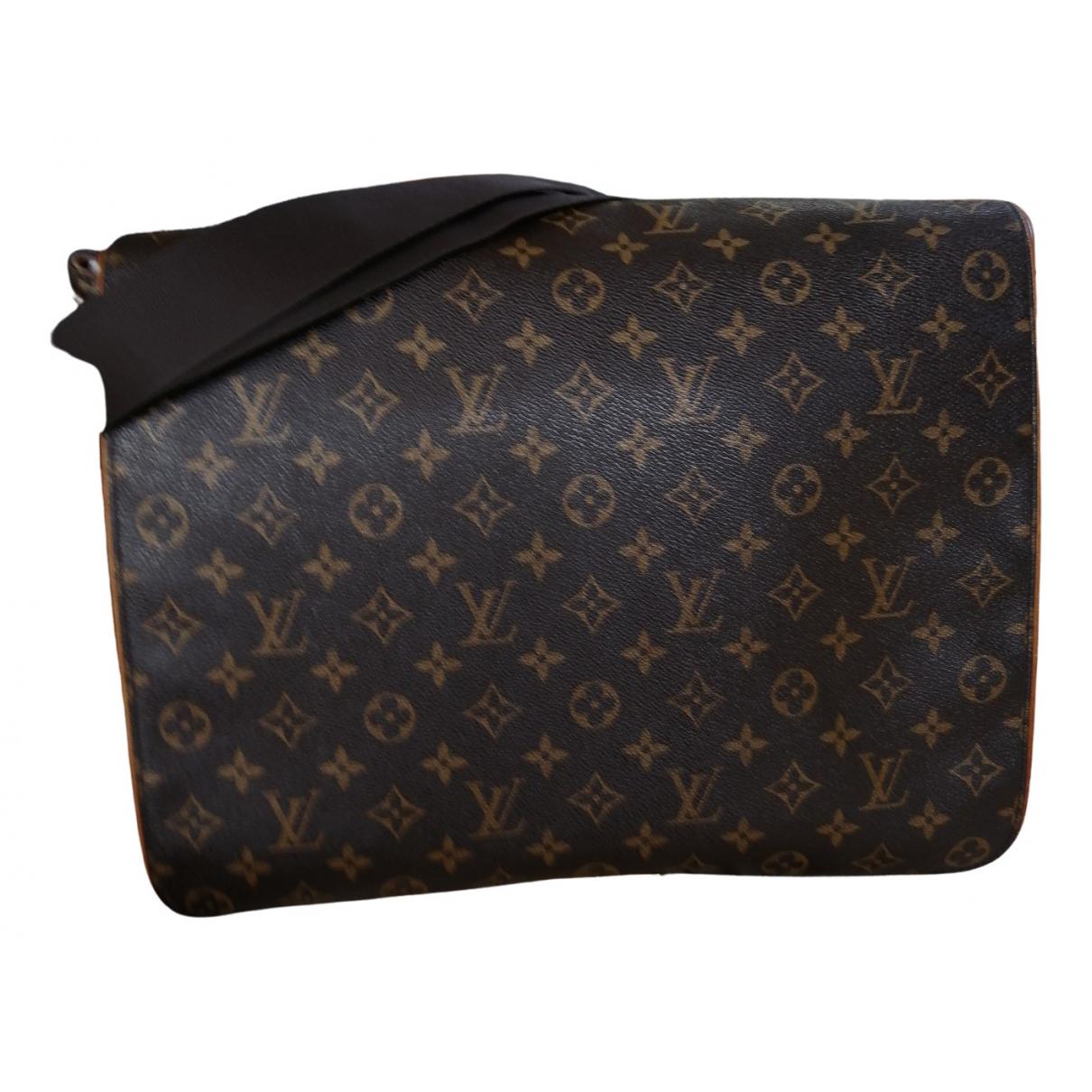Louis Vuitton Abbesses Messenger Brown Cloth bag for Men \N