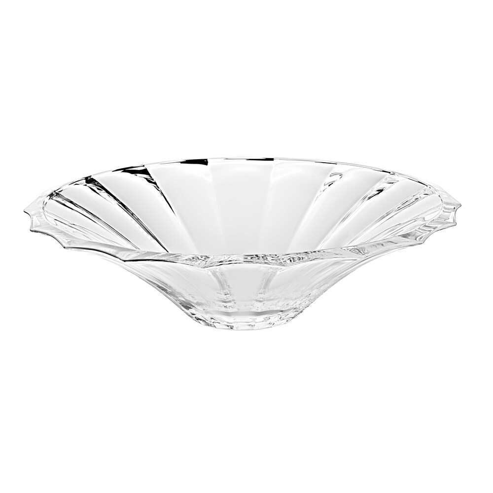Majestic Gifts  European High Quality Glass Centerpiece Bowl-13.2