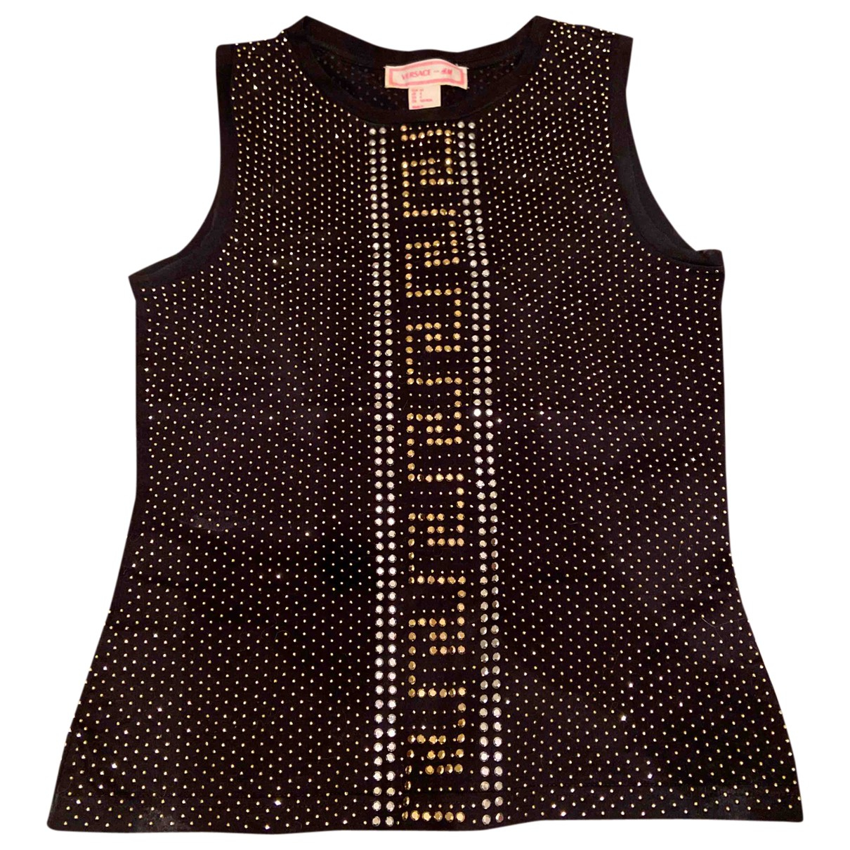Versace X H&m \N Top in  Schwarz Baumwolle