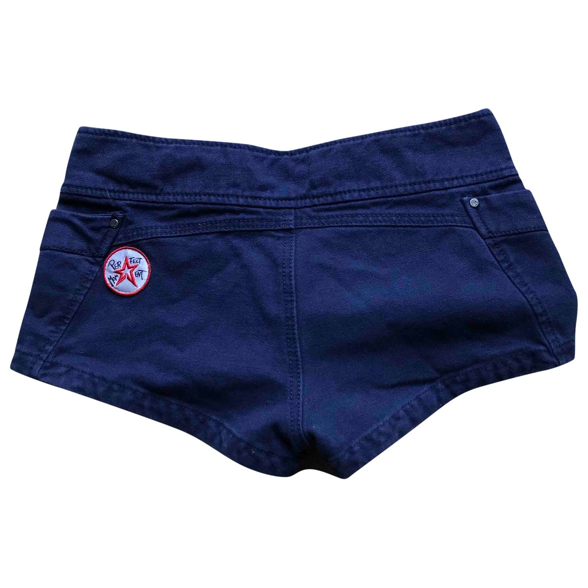 Perfect Moment \N Blue Cotton Shorts for Women S International