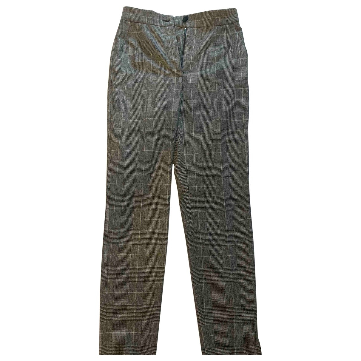 Dolce & Gabbana \N Wool Trousers for Women 38 IT