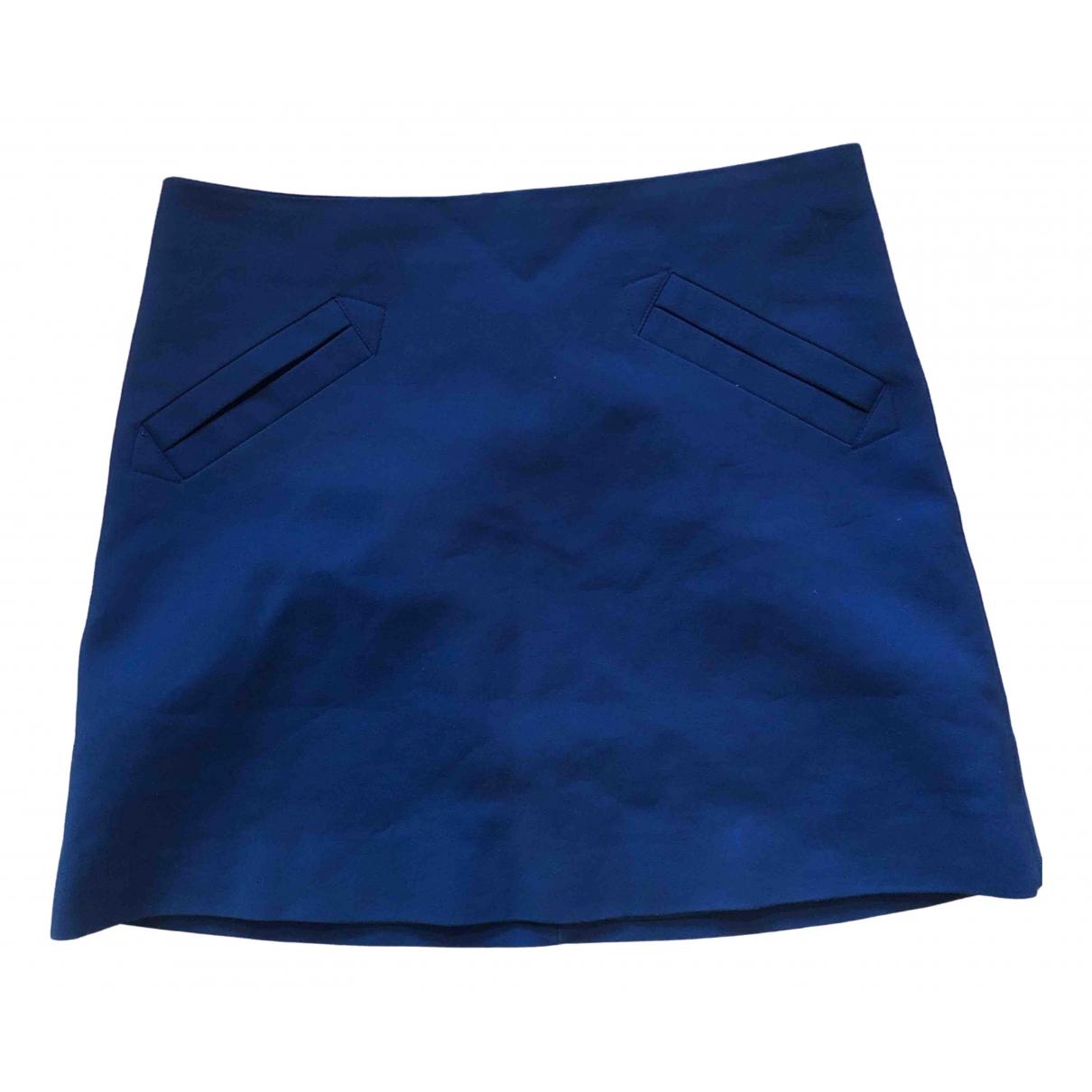 Zara \N Blue Cotton skirt for Women M International