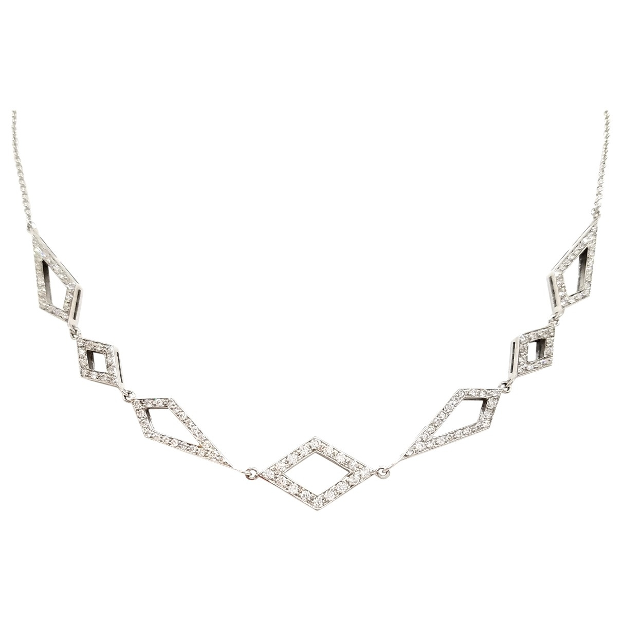 Autre Marque \N Silver White gold necklace for Women \N