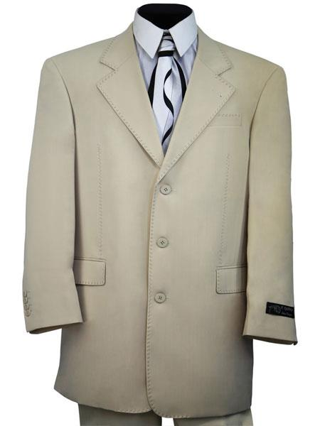 Mens 2pc Cream zoot Suit and Pants