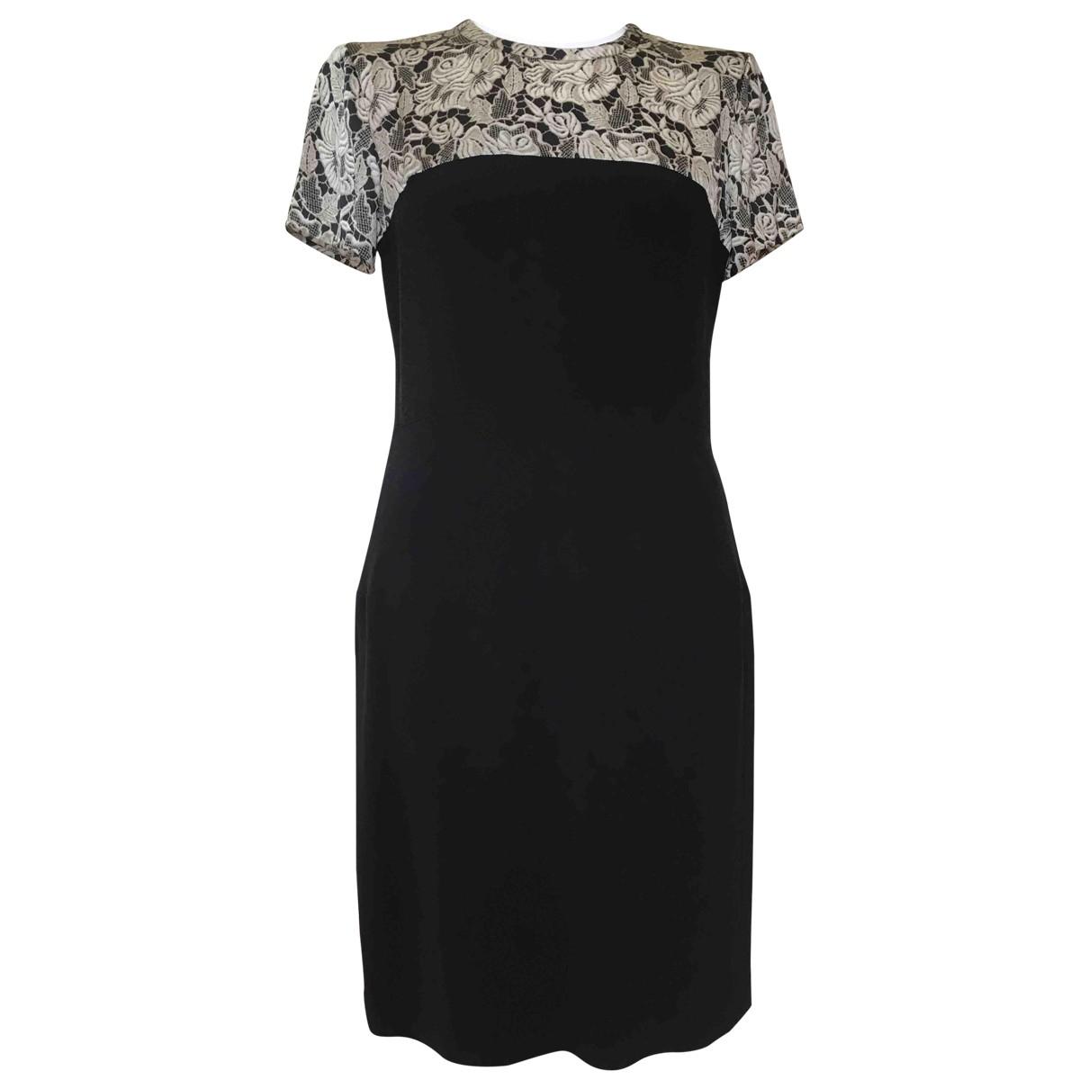 Stella Mccartney \N Black Silk dress for Women 42 IT