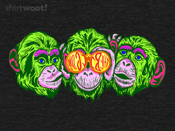 Monkey Sees The Big One T Shirt