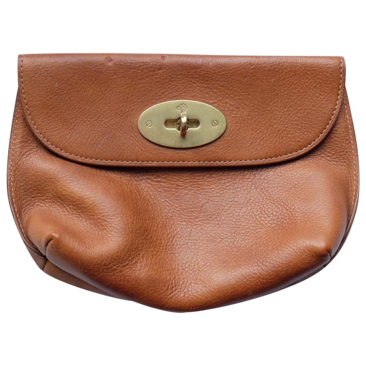 Mulberry \N Brown Leather Clutch bag for Women \N