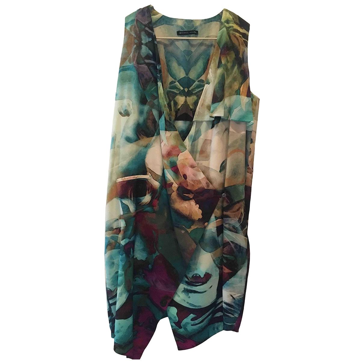 Michael Angel - Robe   pour femme en soie - multicolore