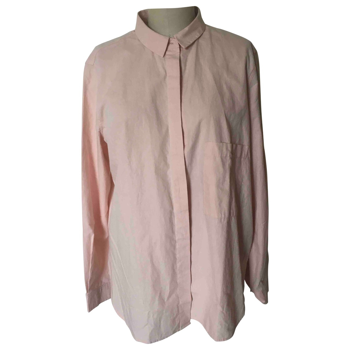 Closed \N Pink Cotton  top for Women XL International
