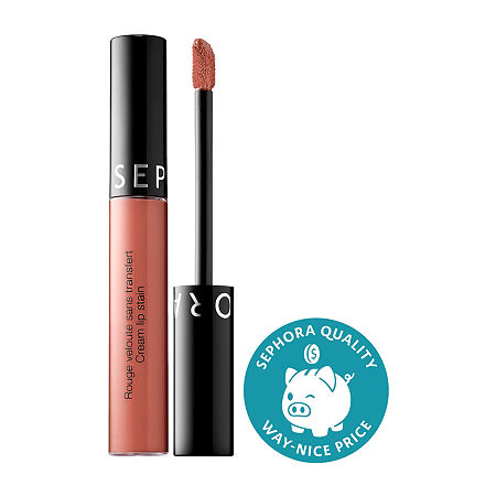 SEPHORA COLLECTION Cream Lip Stain Liquid Lipstick, One Size , Nude