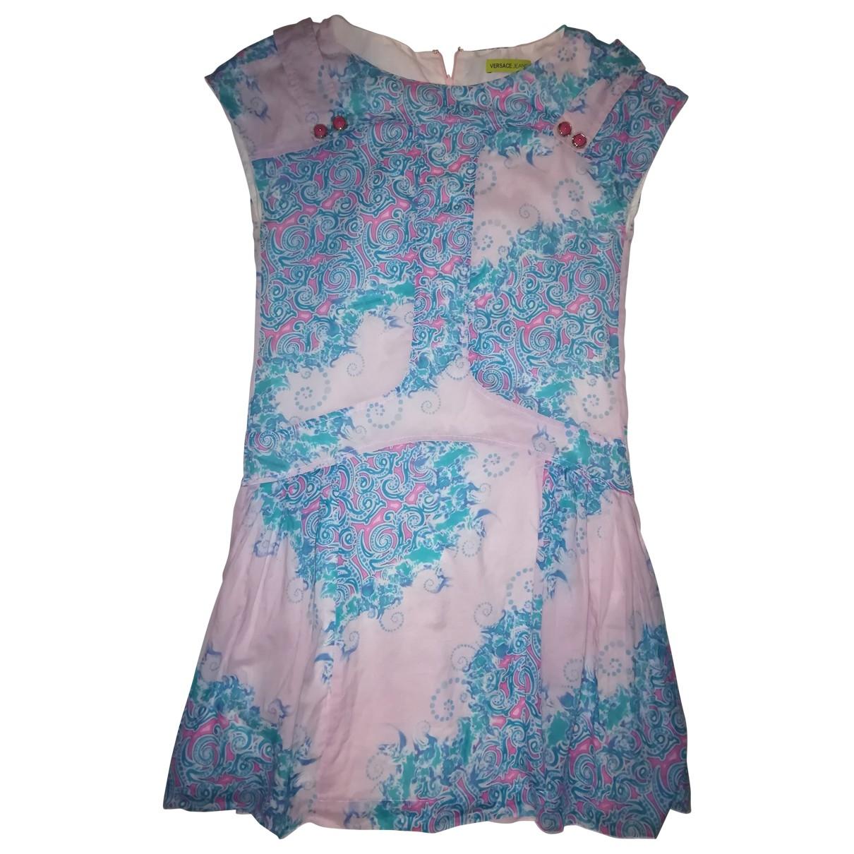 Versace Jeans \N Multicolour Cotton dress for Women 40 IT