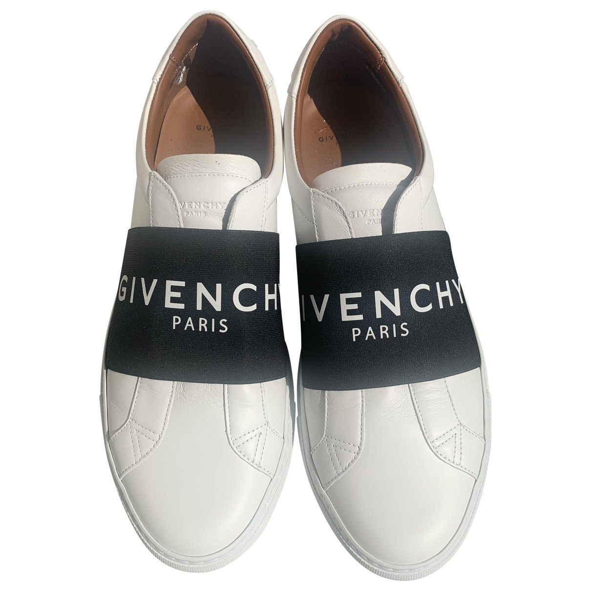 Givenchy \N White Leather Trainers for Men 43 EU