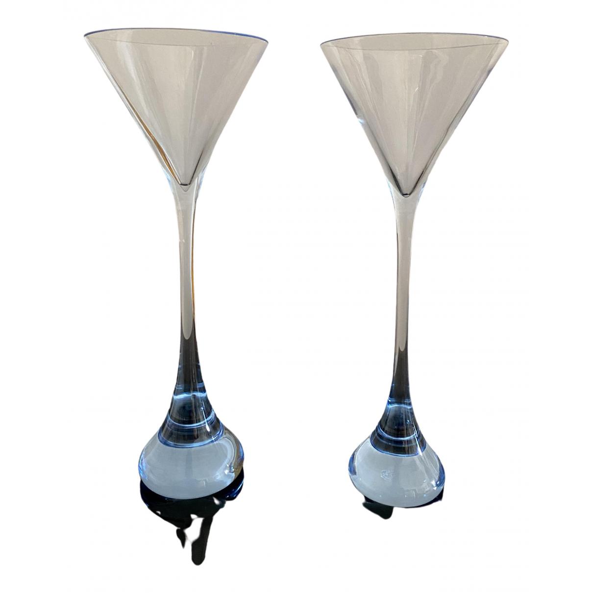 Baccarat - Arts de la table   pour lifestyle en cristal - bleu