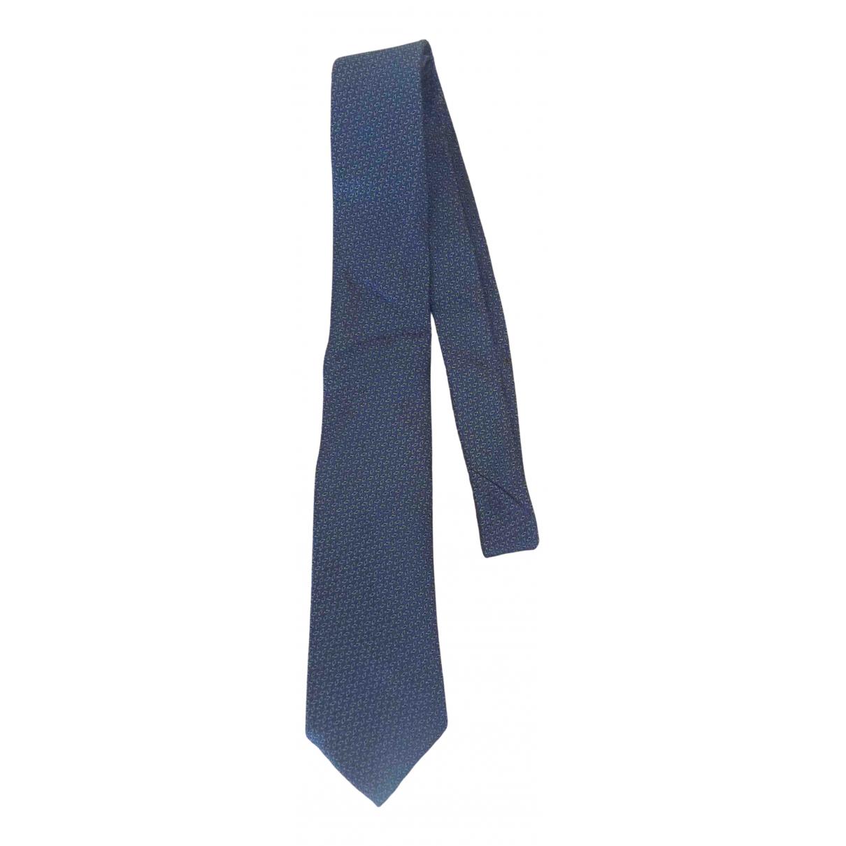 Canali \N Krawatten in  Bunt Seide