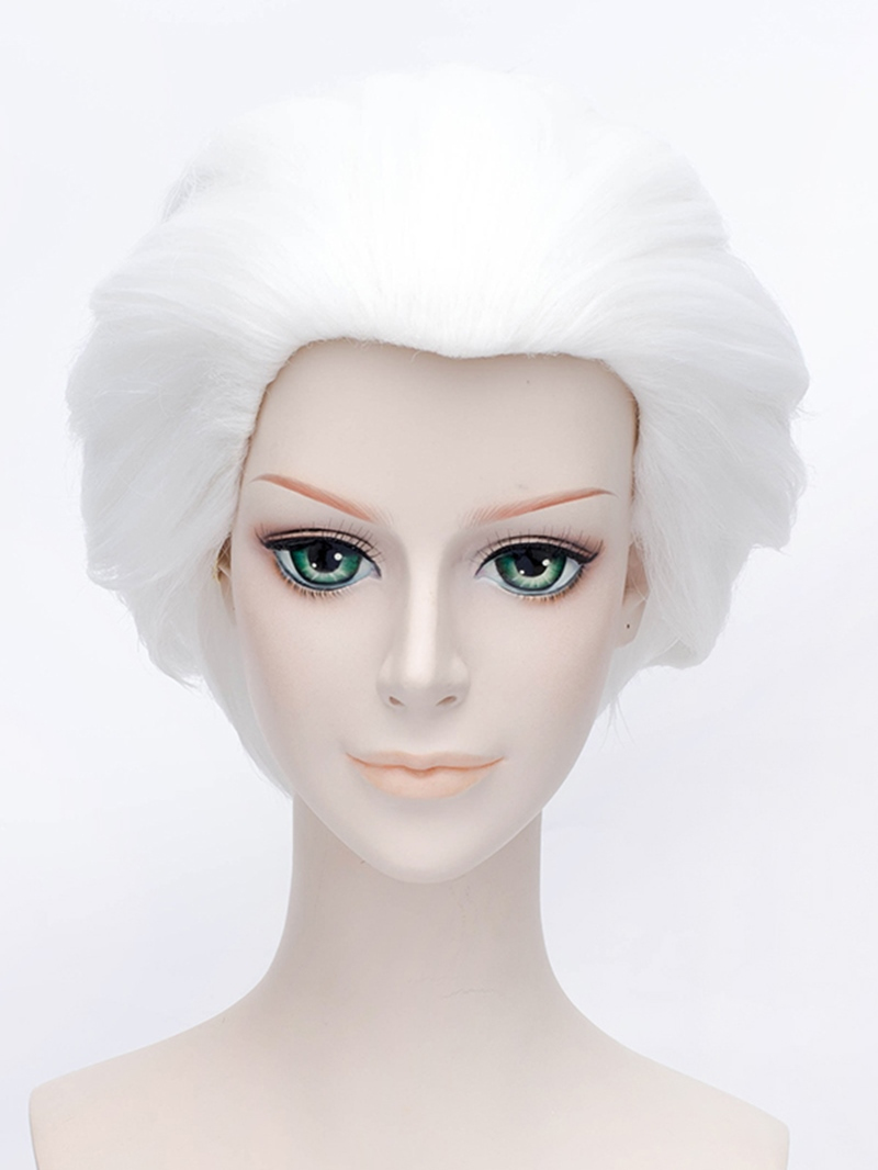 Ericdress Cool Comic Cosplay Silver Short Wig 12 Inches