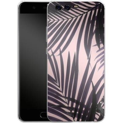 Huawei P10 Silikon Handyhuelle - Delicate Jungle Theme von Emanuela Carratoni