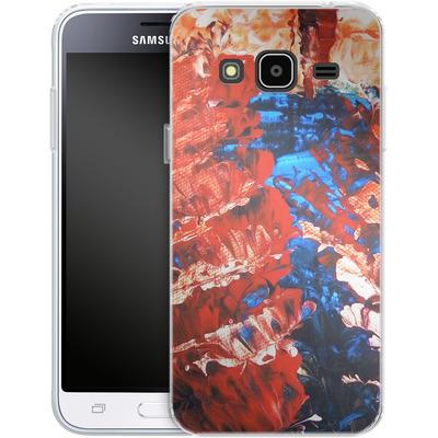 Samsung Galaxy J3 (2016) Silikon Handyhuelle - Macro 11 von Gela Behrmann