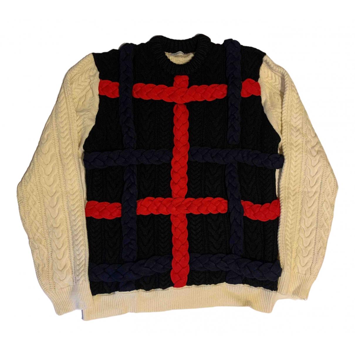 J.w. Anderson \N Pullover.Westen.Sweatshirts  in  Blau Wolle