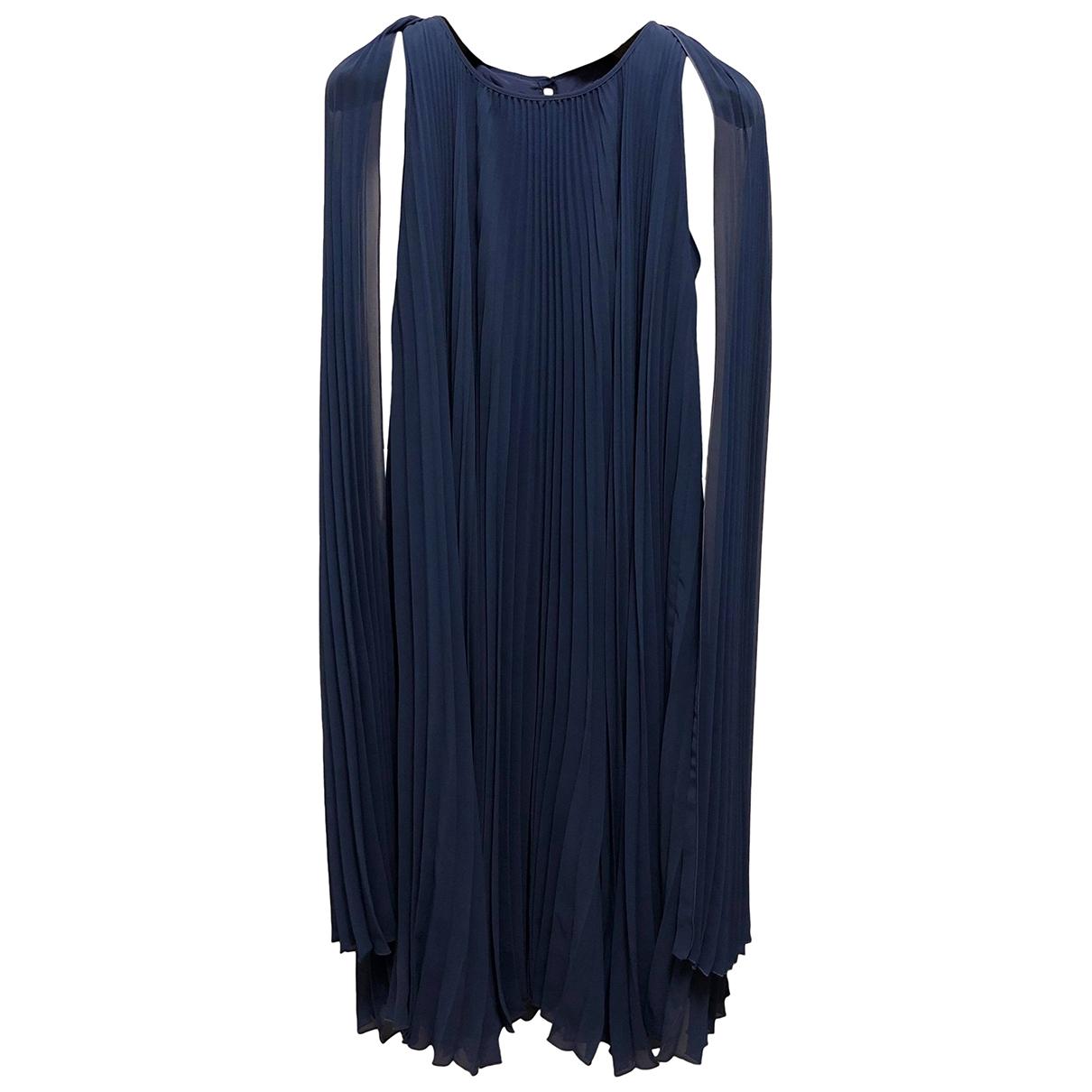 Max Mara \N Kleid in  Blau Polyester