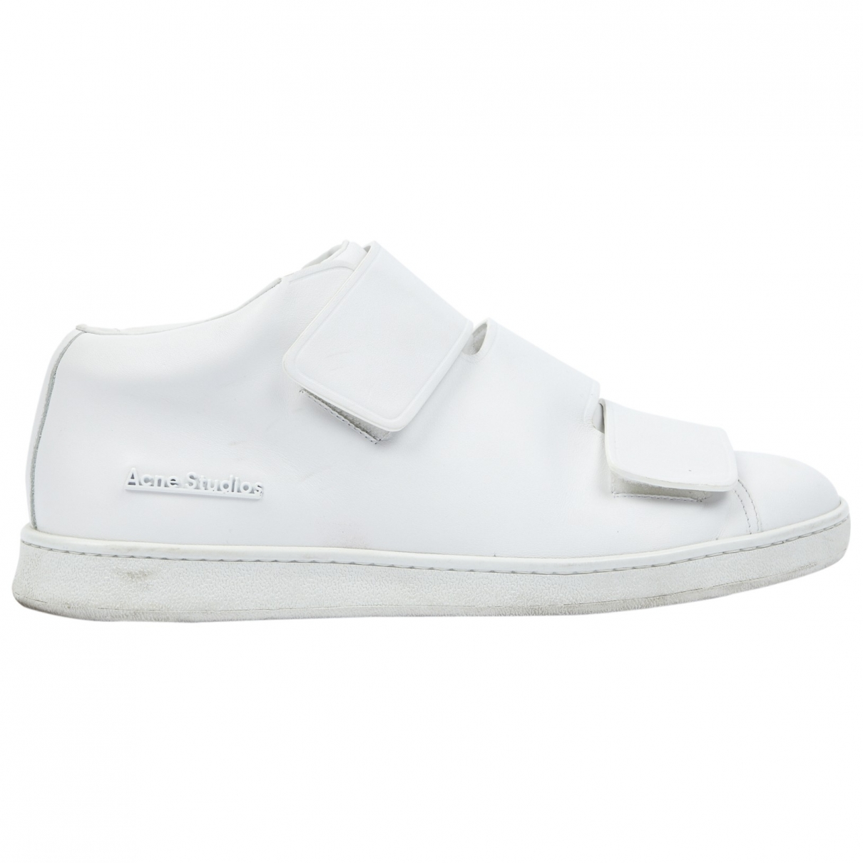 Acne Studios \N White Leather Trainers for Men 44 EU