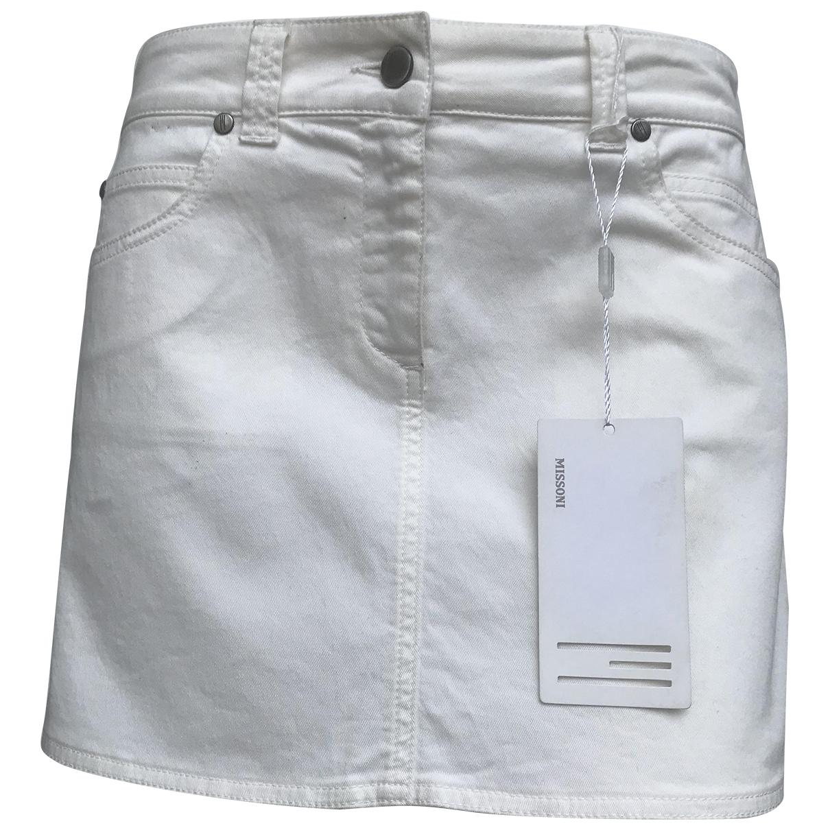 Missoni - Jupe   pour femme en coton - blanc