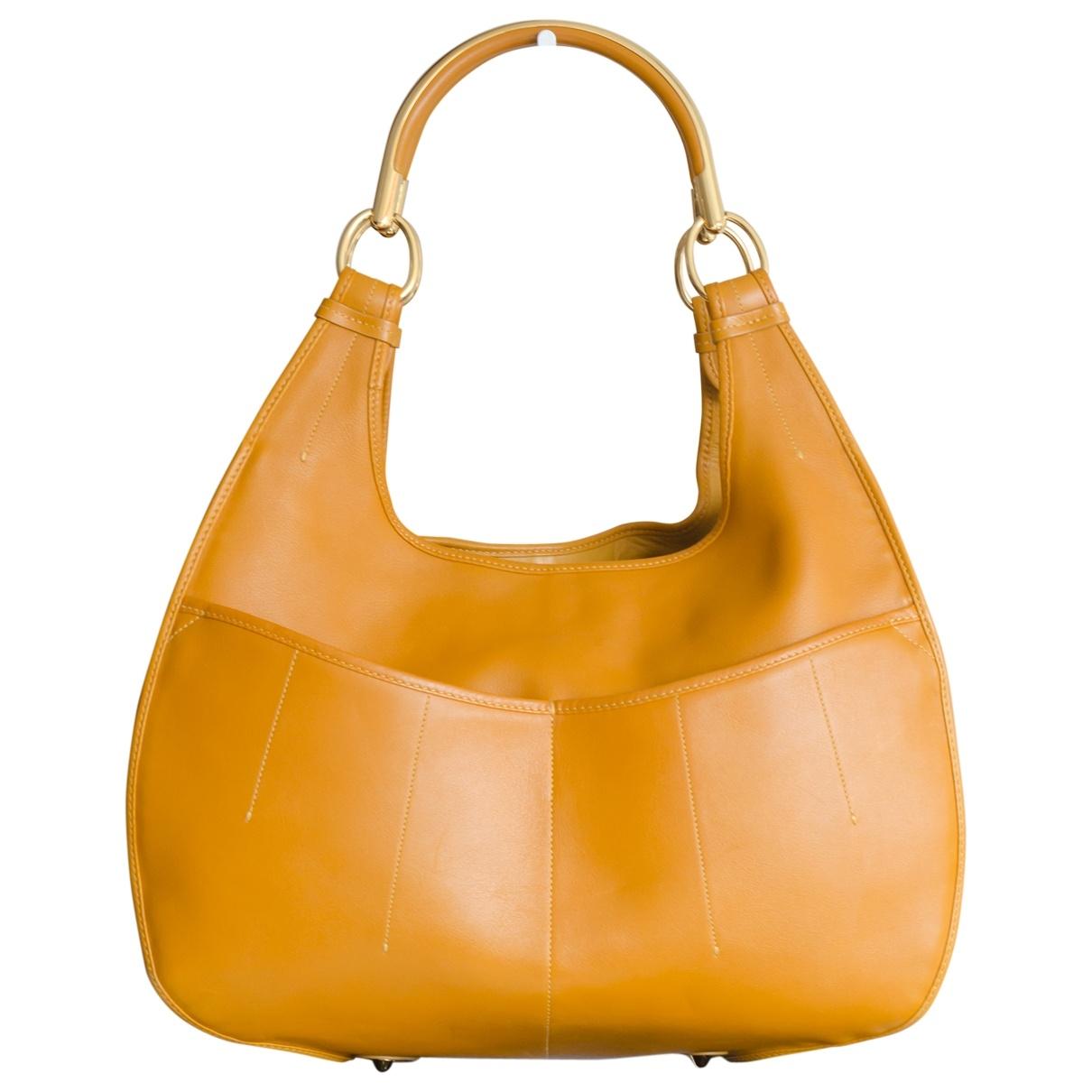 Dior 61 Camel Leather handbag for Women \N