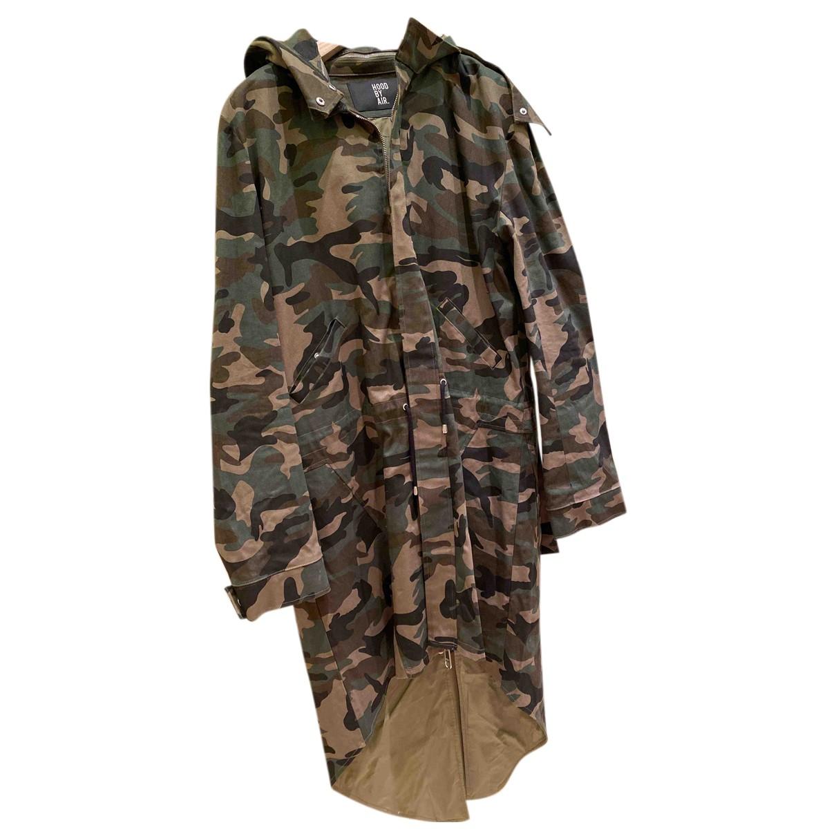 Hood By Air N Multicolour Cotton coat  for Men M International