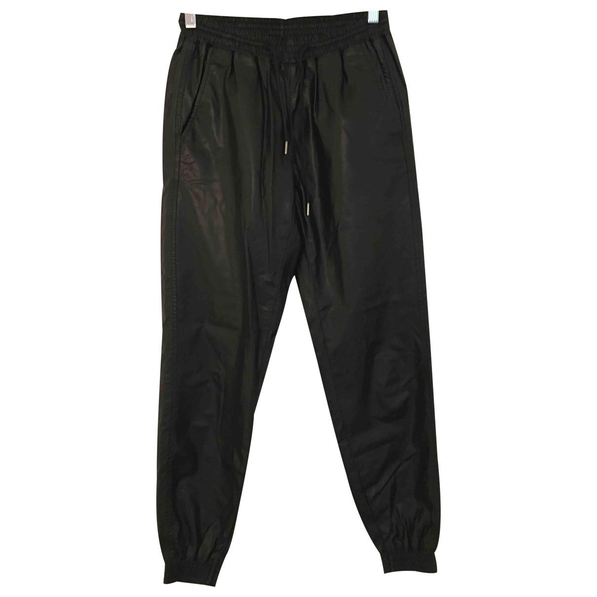Zara \N Black Trousers for Women XS International