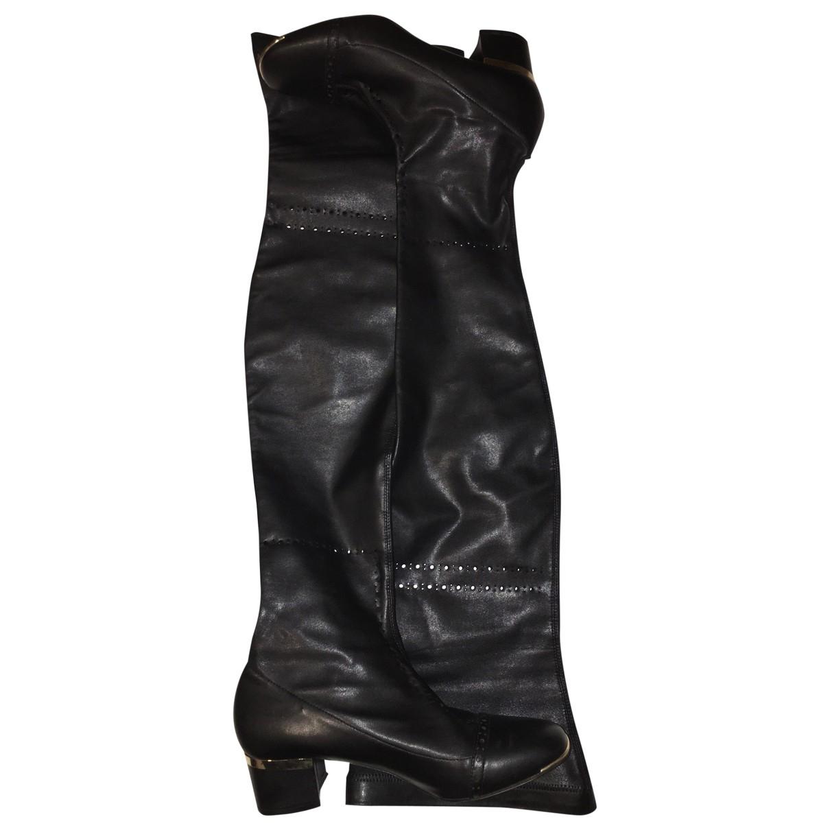 Stella Mccartney - Bottes   pour femme en toile - noir